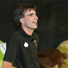 Randy Pausch giving the last lecture at CMU